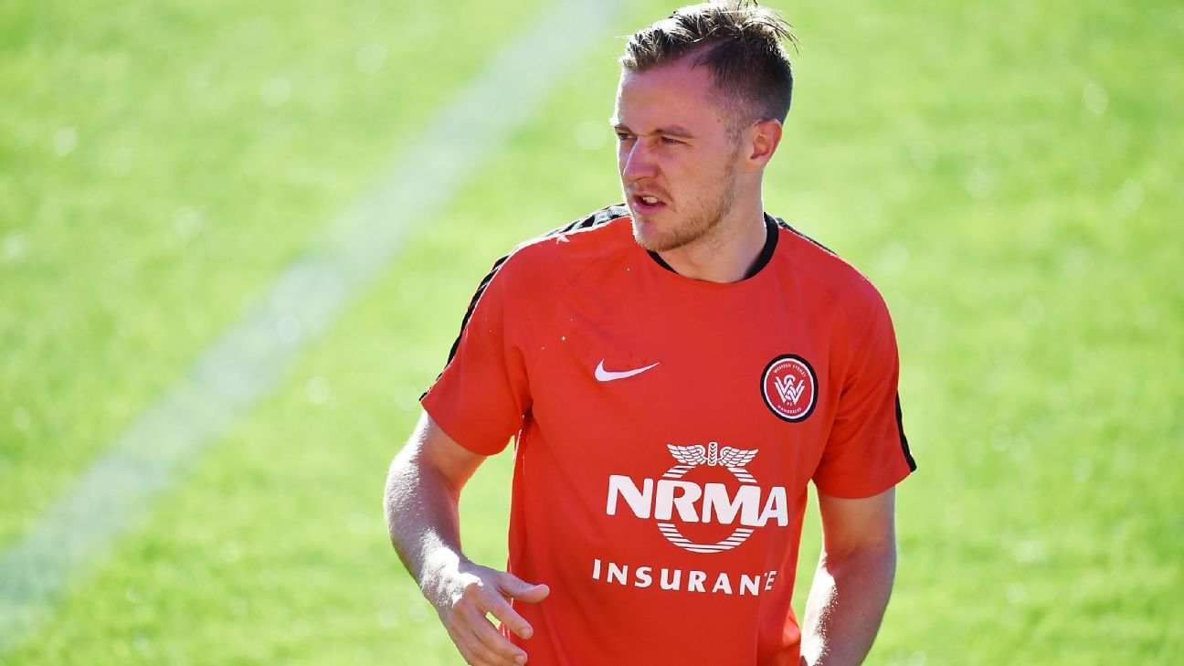 Western Sydney defender Scott Jamieson
