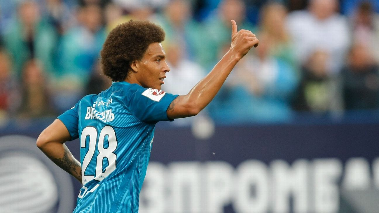 Axel Witsel pletes move to Tianjin Quanjian from Zenit St