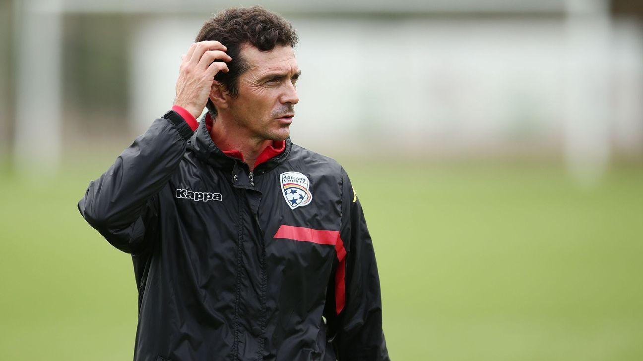 Adelaide coach Guillermo Amor