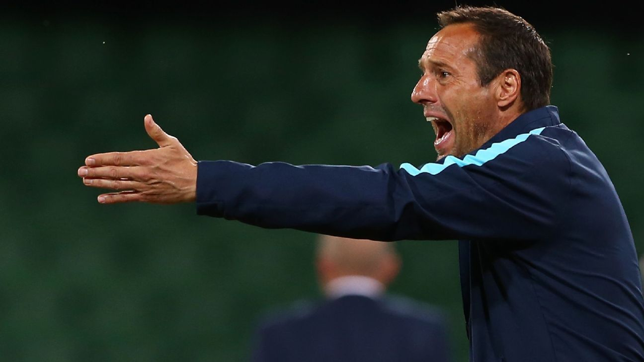 Melbourne City coach John van 't Schip