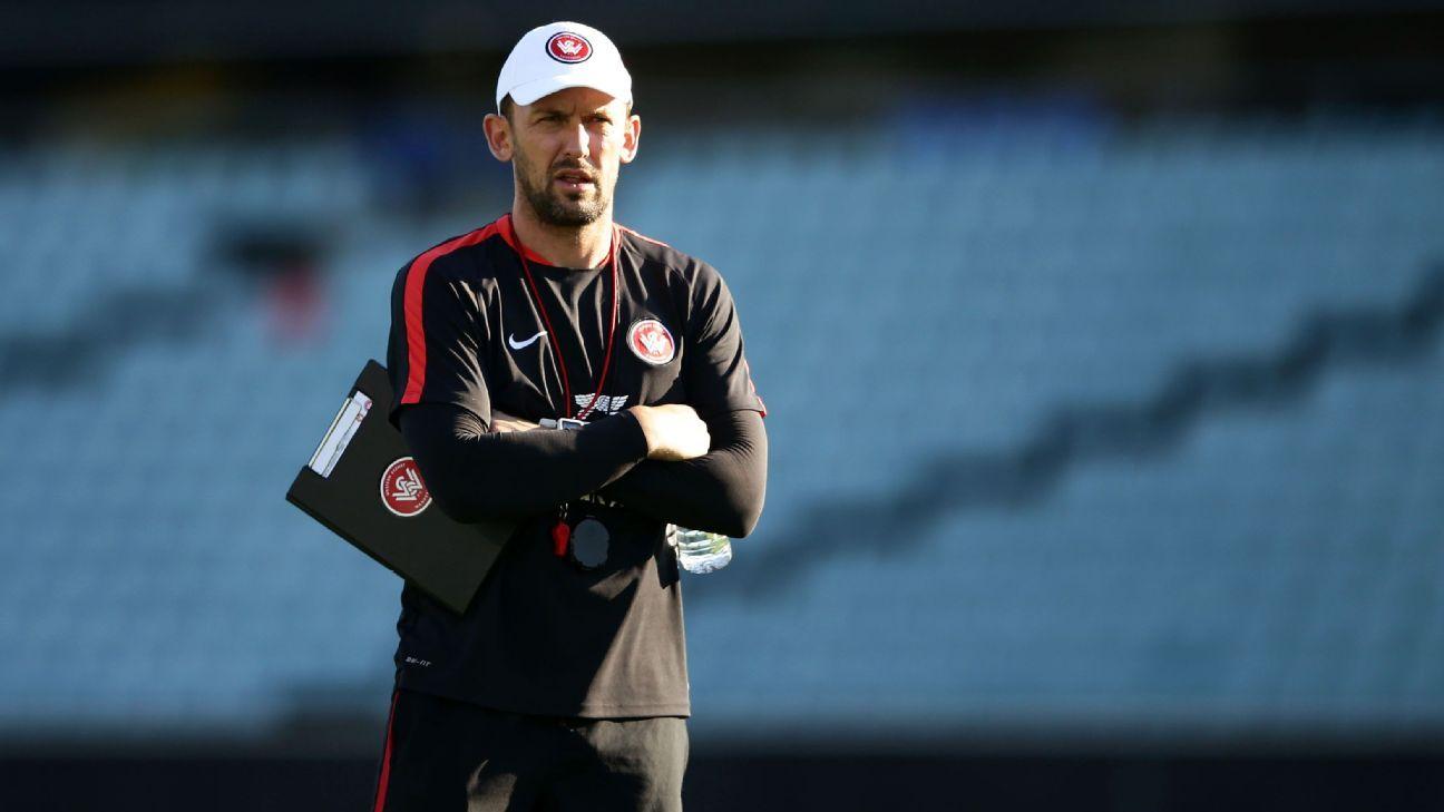 Western Sydney Wanderers coach Tony Popovic