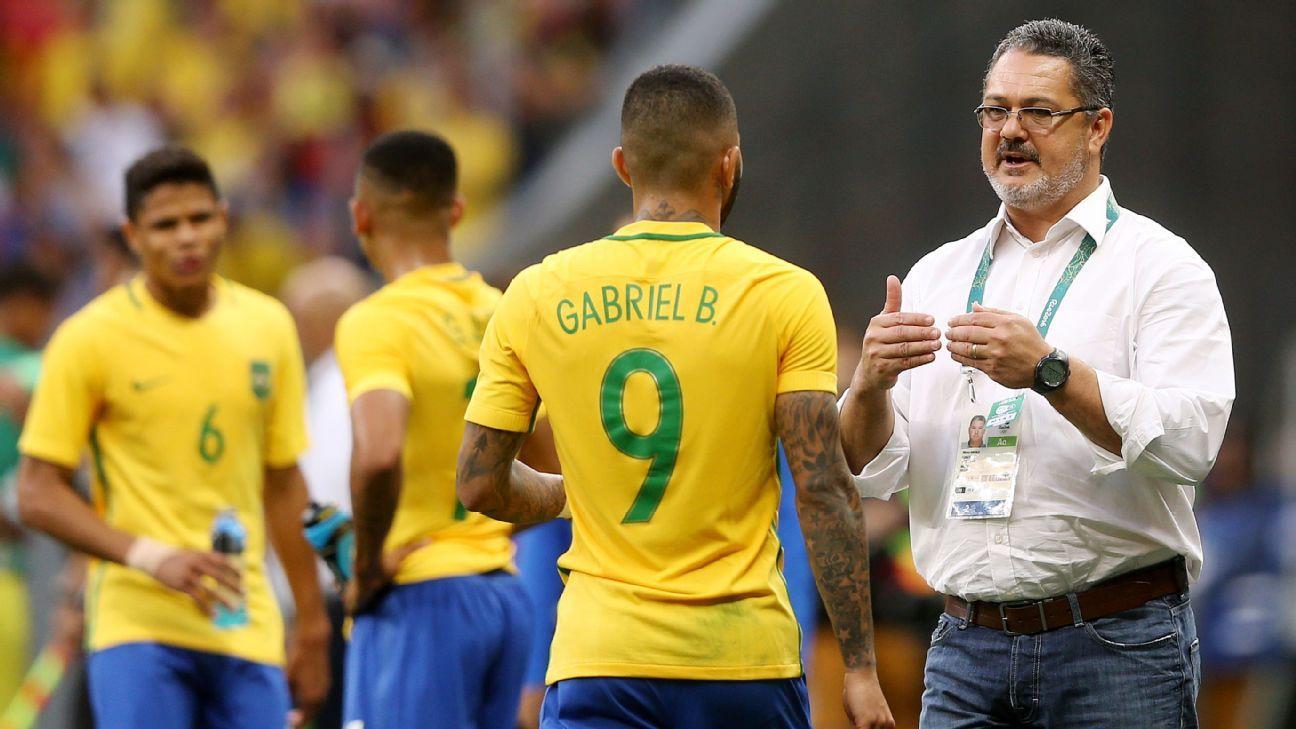 Brazil coach Rogerio Micale