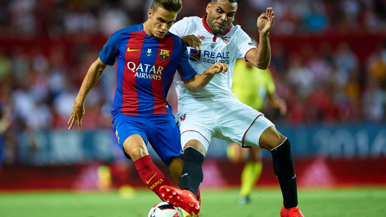 Denis Suarez vs Sevilla 160814