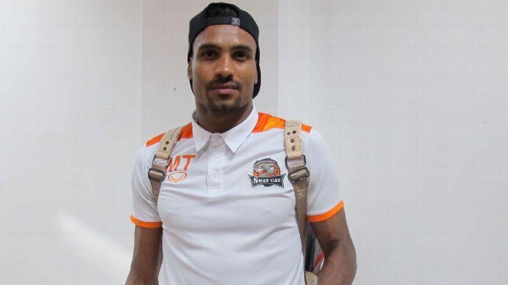 Nakhon Ratchasima forward Marco Tagbajumi
