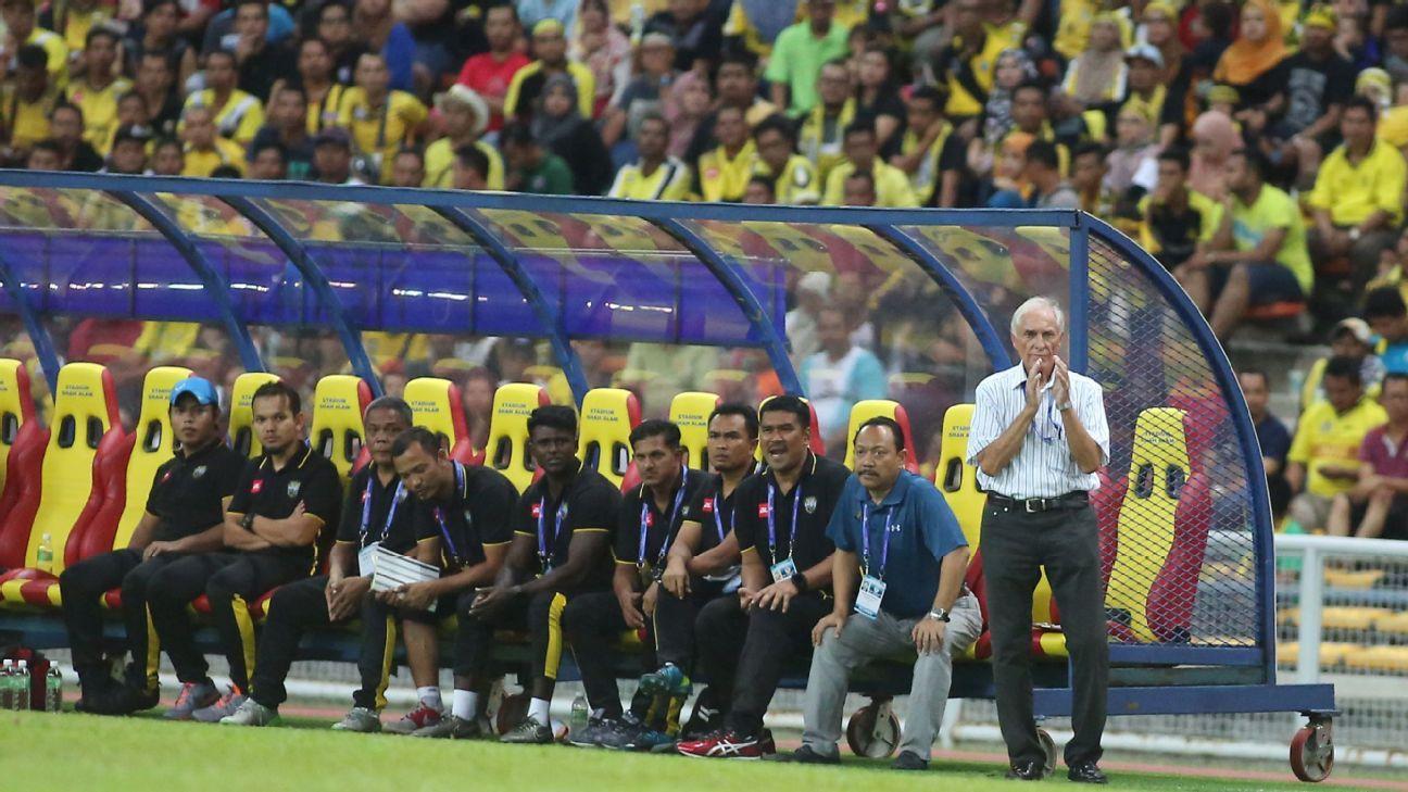 Perak coach Karl Heinz Weigang