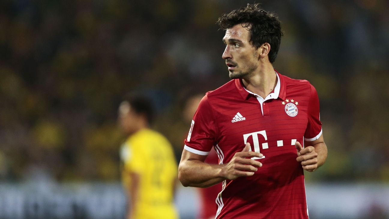 Mats Hummels Carlo Ancelotti wants to see more from Bayern Munich
