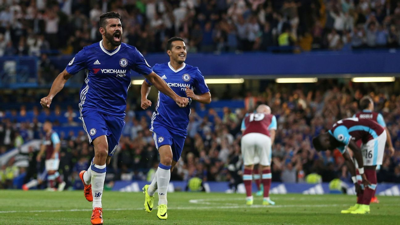 Diego Costa scored the winner for Chelsea in the 89th minute.