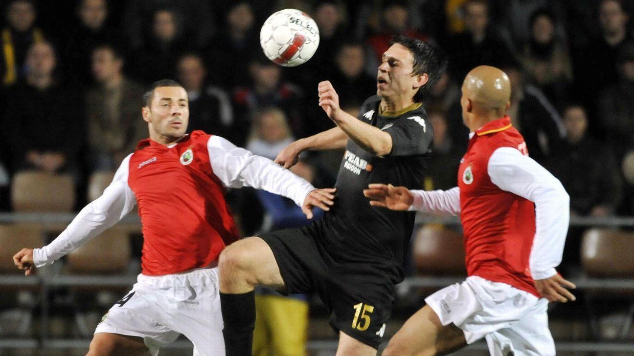 Newcastle Jets striker Aleksandr Kokko