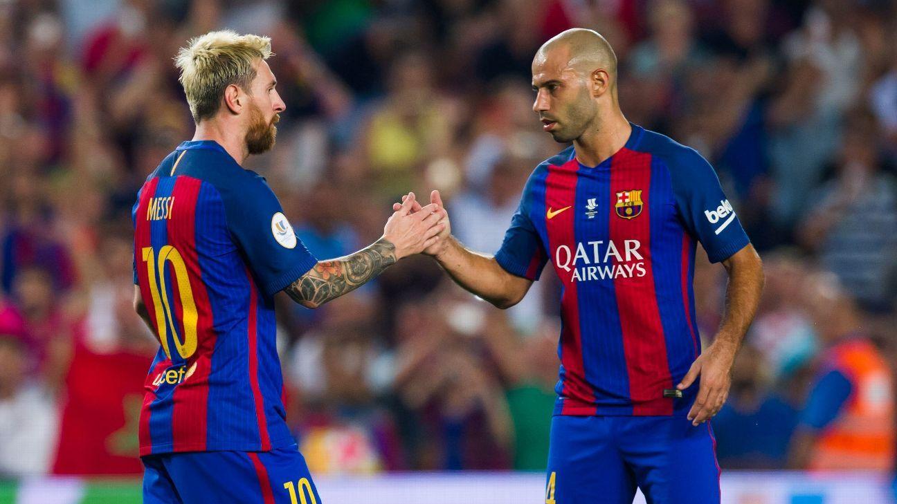 Mascherano Barcelona vs Sevilla
