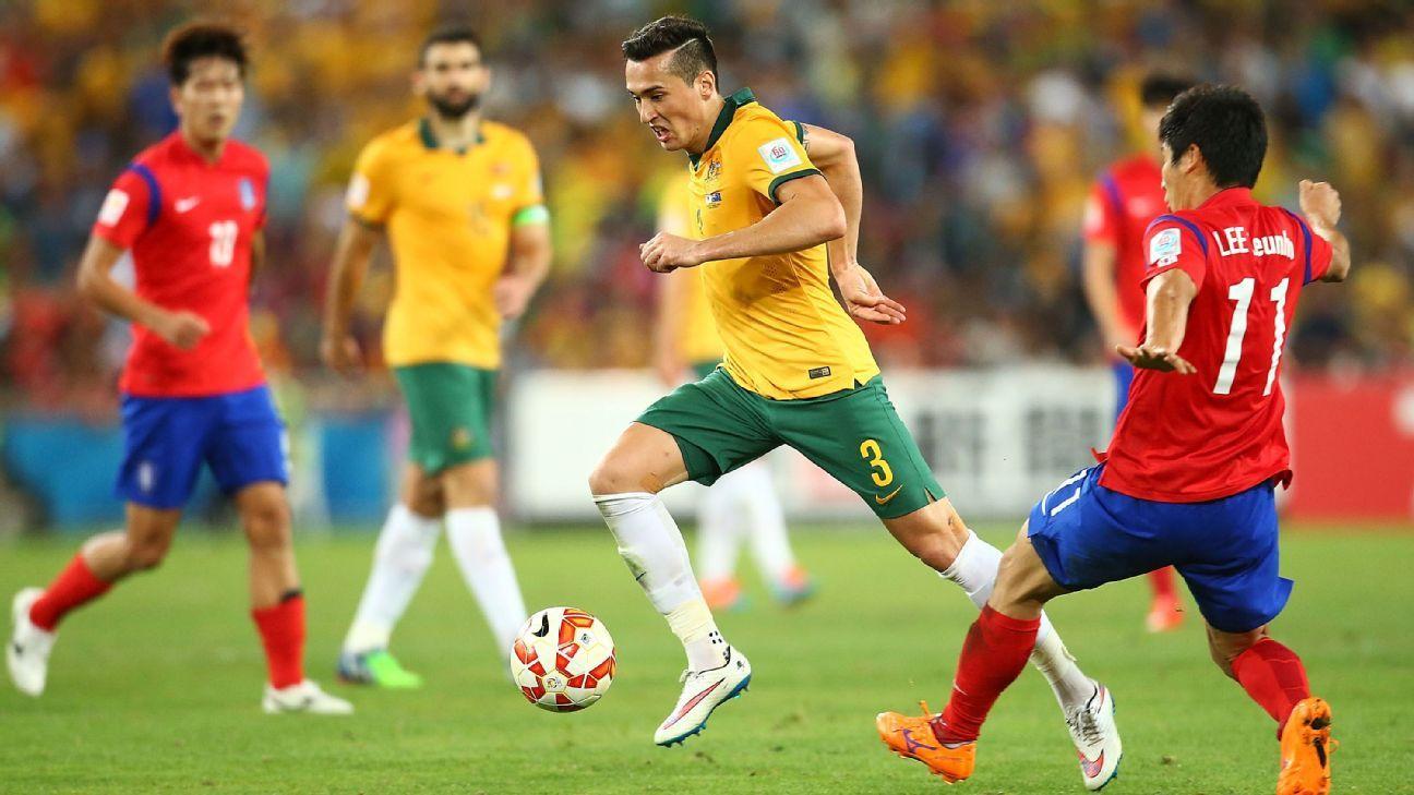 Australian defender Jason Davidson
