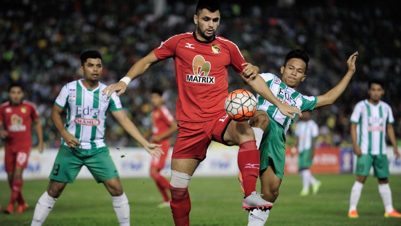 Negeri Sembilan forward Goran Jerkovic
