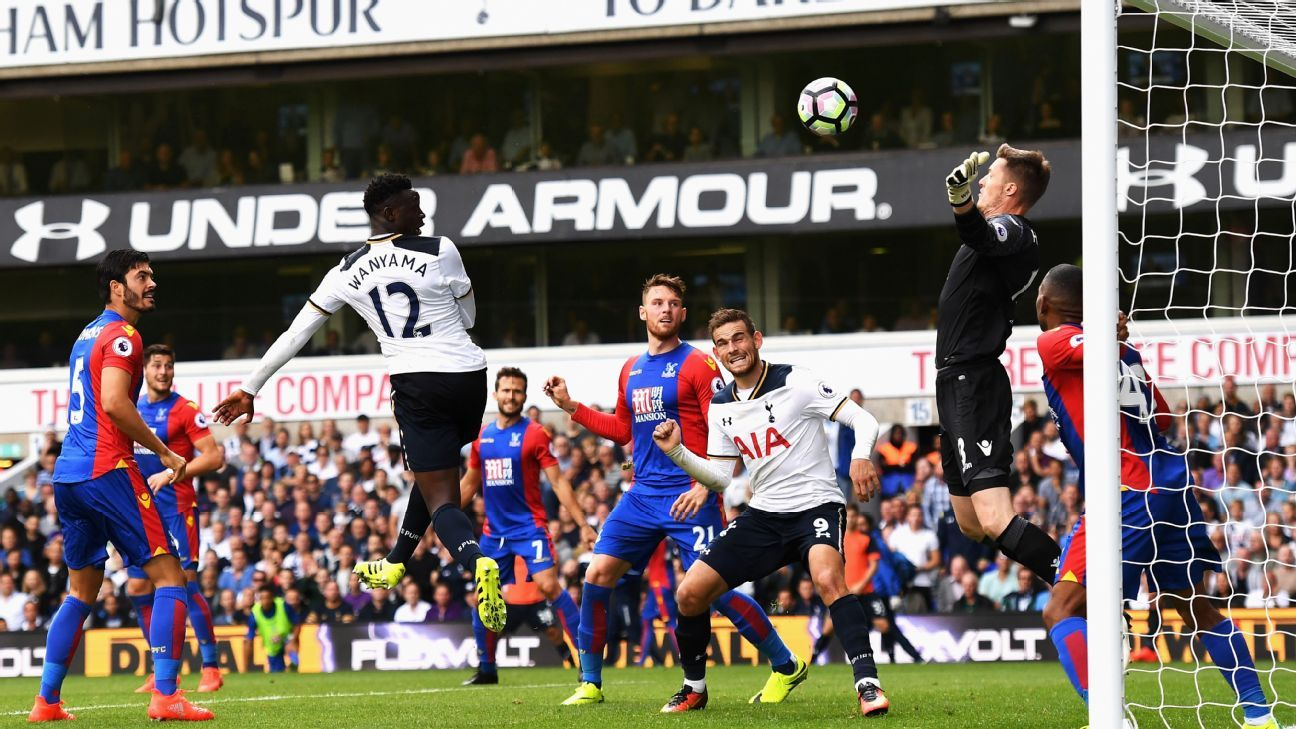 Victor Wanyama sealed a late win for Tottenham at White Hart Lane.