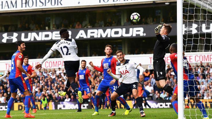 Victor Wanyama sealed a late win for Tottenham at White Hart Lane.