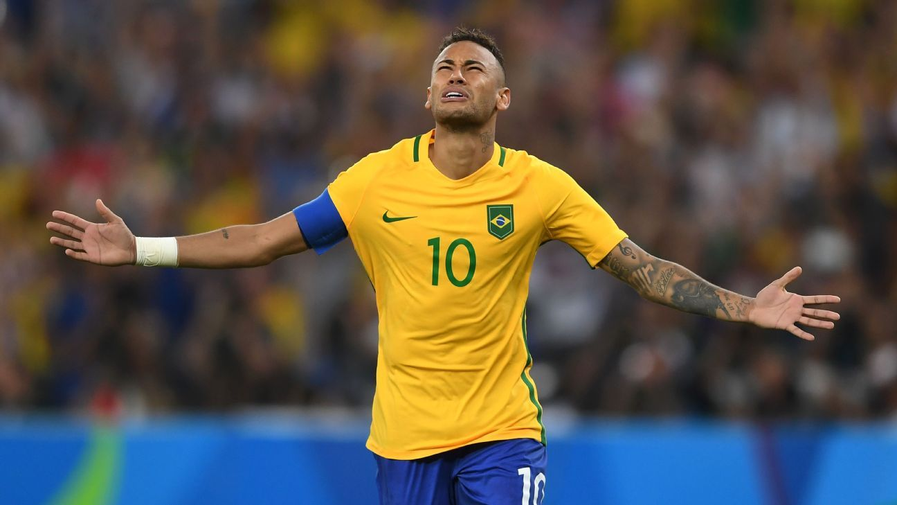 Neymar's face is pretty much inescapable across Brazil.