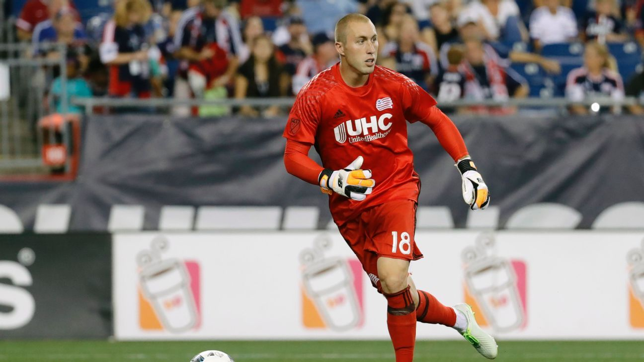 The return of goalkeeper Brad Knighton is among the improvements that have sparked the Revolution's three-game winning streak.