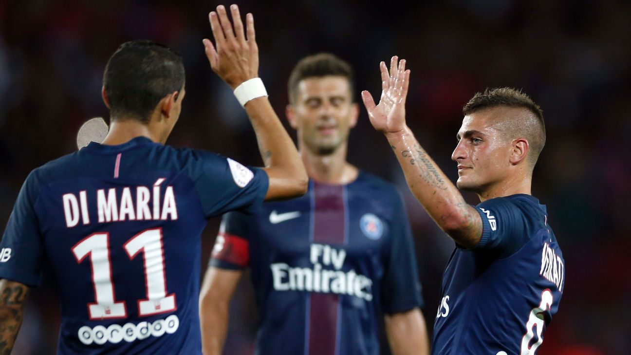 Paris Saint-Germain celebrated a second straight Ligue 1 victory on Sunday.