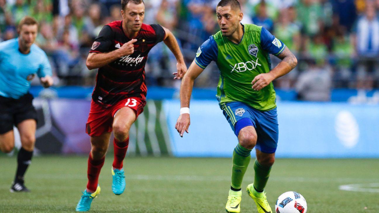 Dempsey action vs Portland 160821