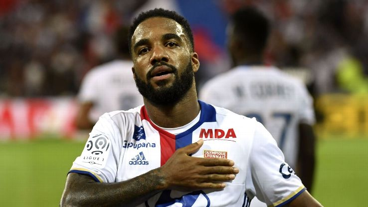 Alexandre Lacazette will be critical to Lyon's fortunes against Juventus.