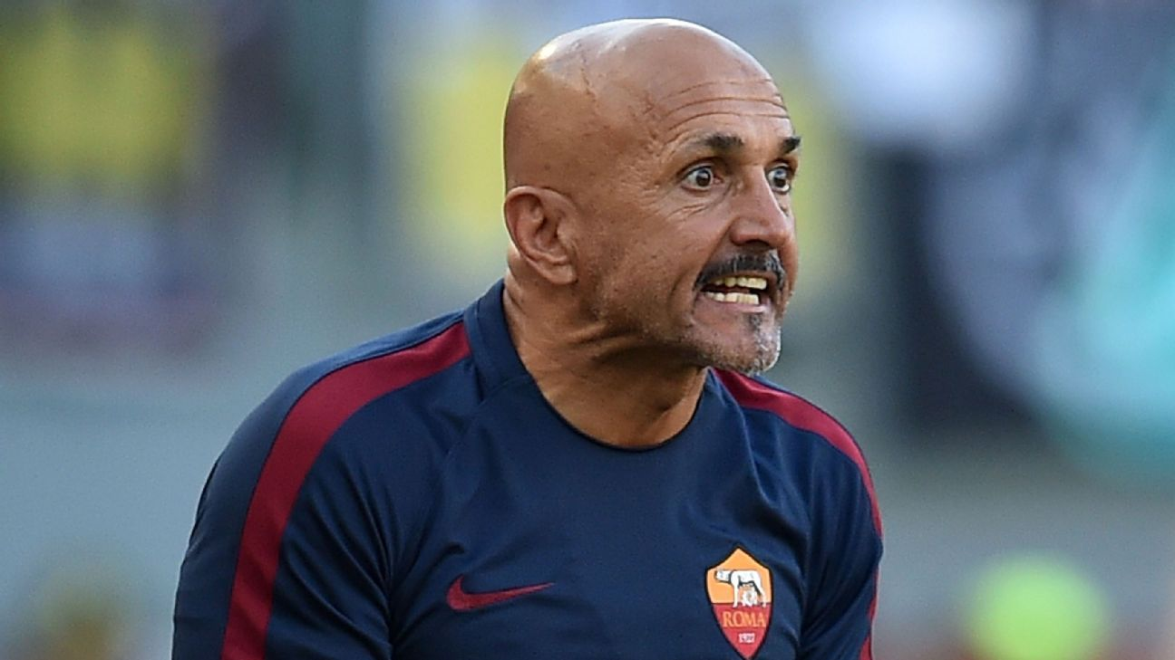 Luciano Spalletti on borrowed time as trophy-starved Roma