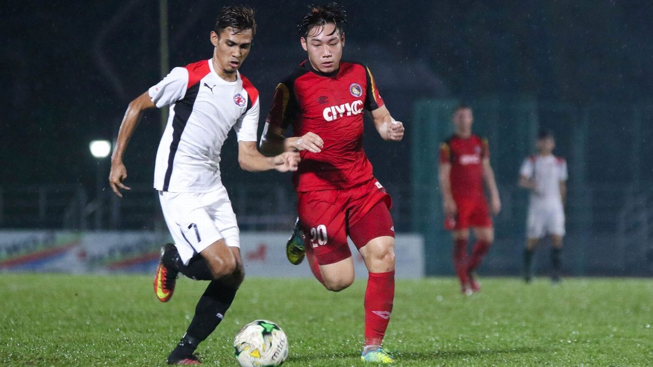 Balestier left-back Ho Wai Loon