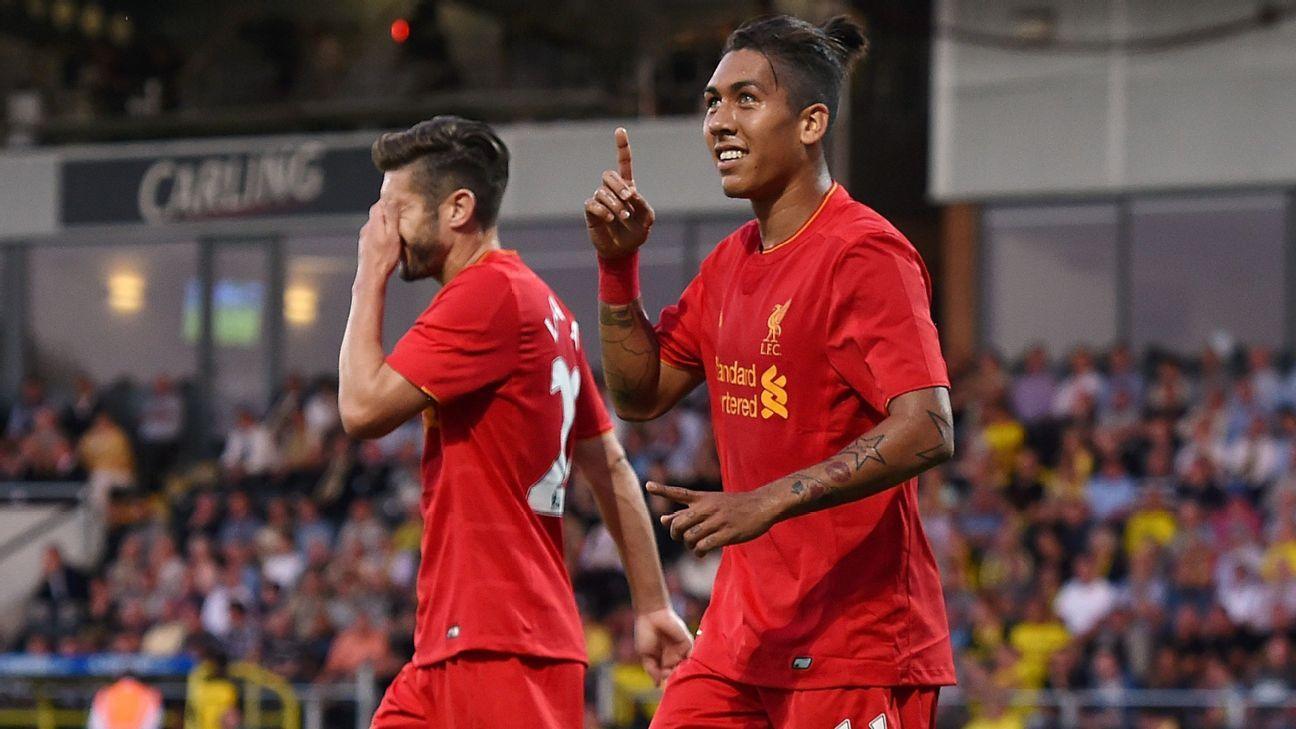 Roberto Firmino: Roberto Firmino Hopes To Become Liverpool's Neymar Under