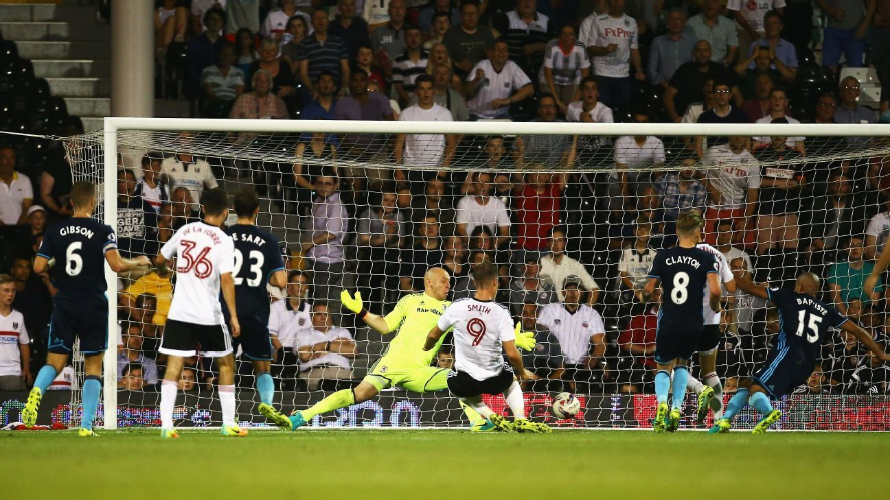 Fulham score the winner versus Middlesbrough in their EFL Cup match.