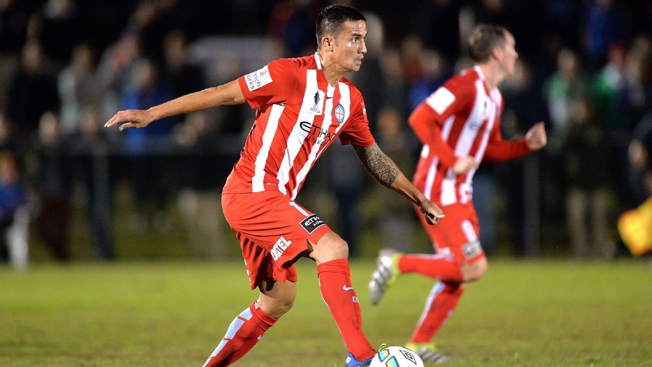 Melbourne City midfielder Tim Cahill