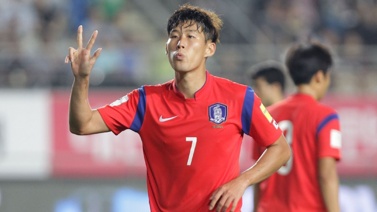 South Korean forward Son Heung-min