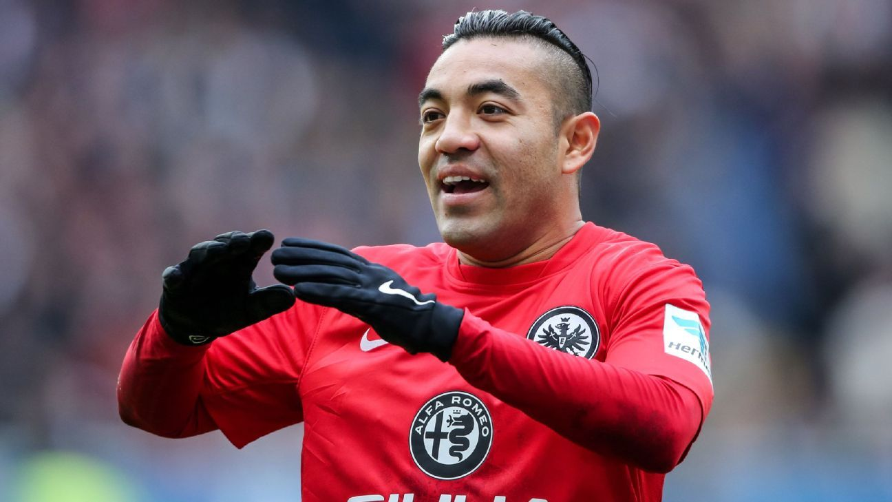 Eintracht Frankfurt forward Marco Fabian