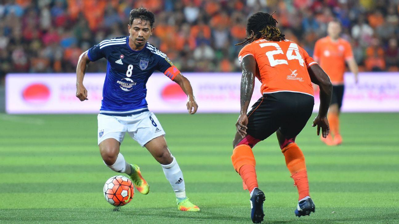 JDT captain Safiq Rahim