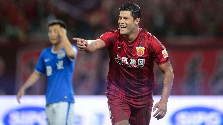 Shanghai SIPG striker Hulk