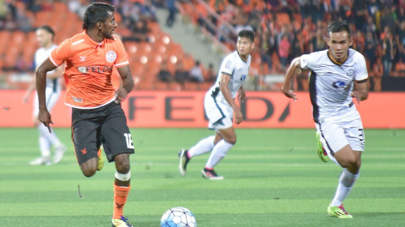 Felda United winger Christie Jayaseelan