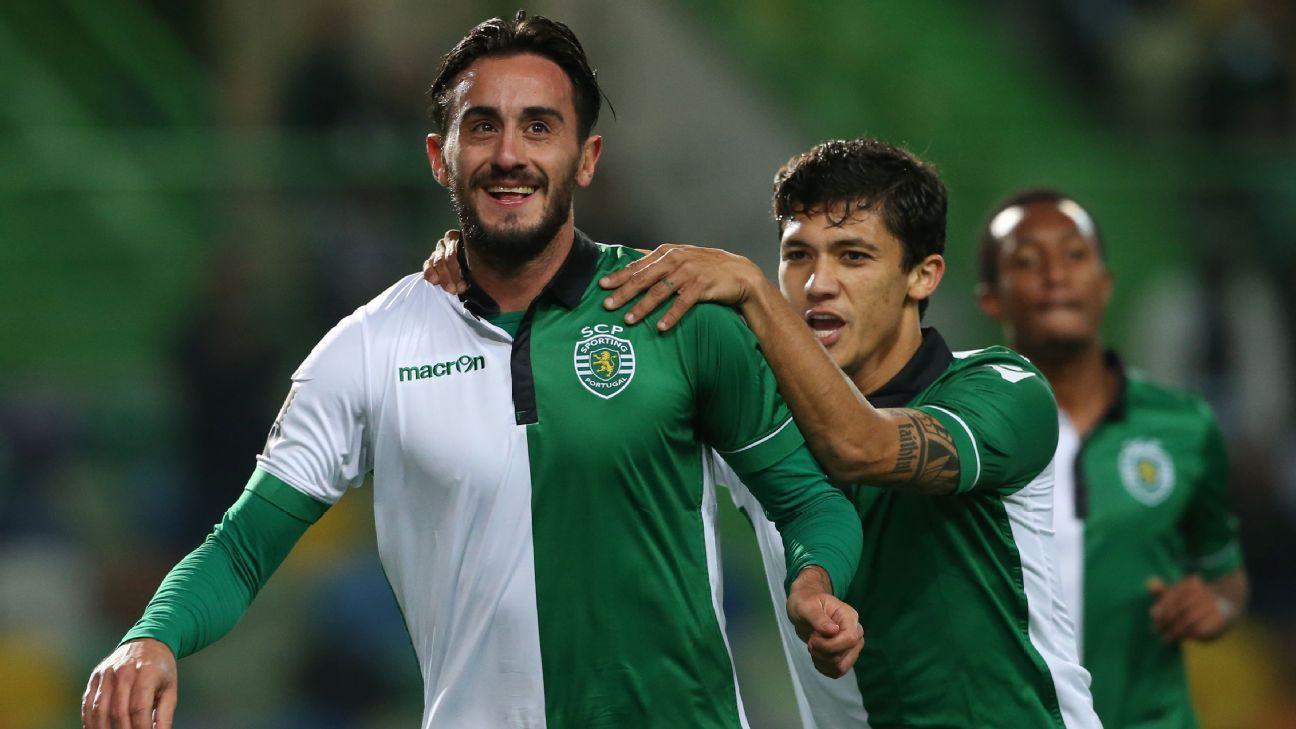 Alberto Aquilani Sporting Lisbon
