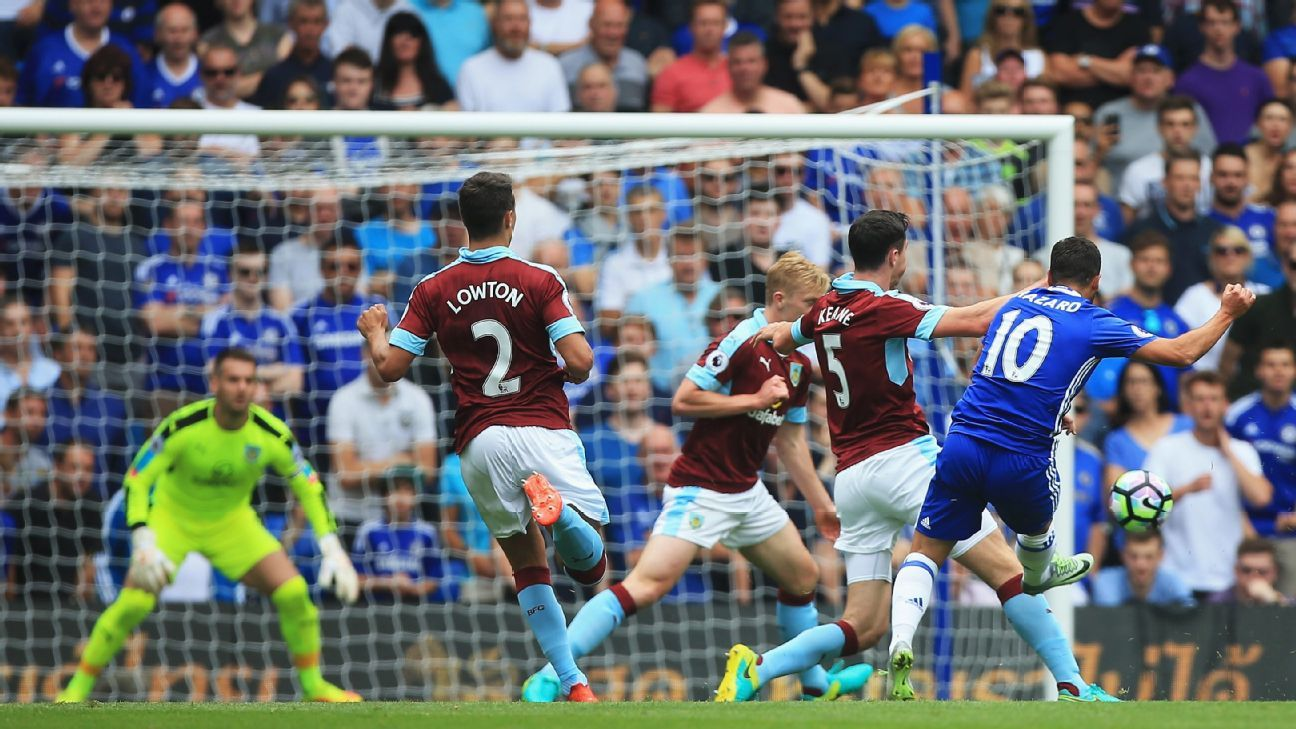 Eden Hazard opened the scoring with a superb solo goal.