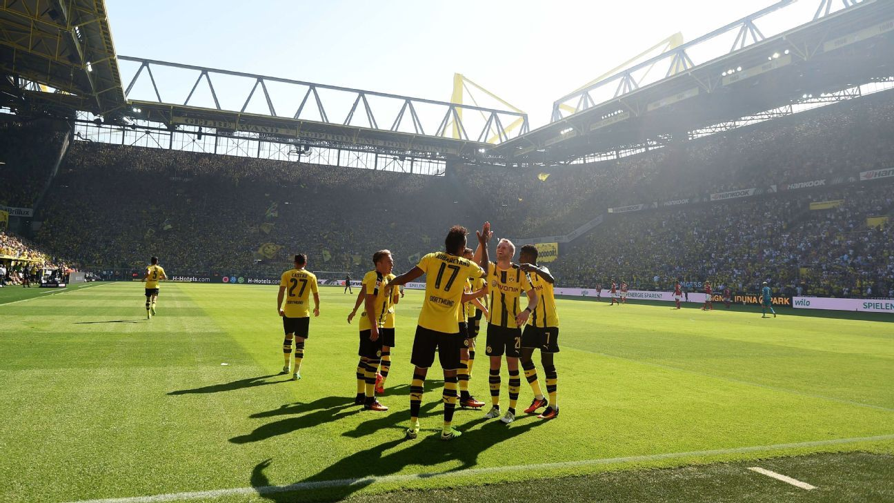 Dortmund began the Bundesliga season with a win on Saturday.