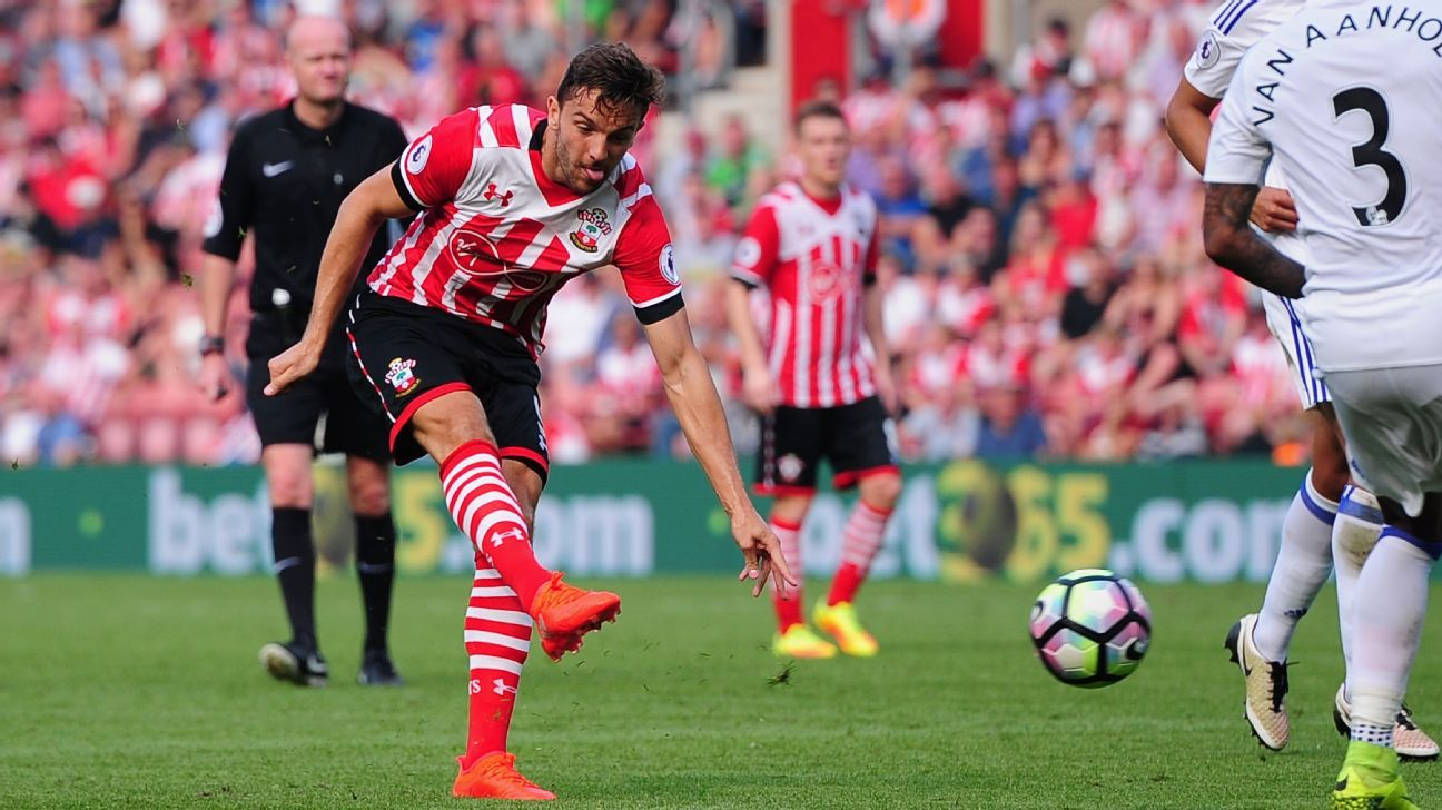 Jay Rodriguez's goal gave Southampton a share of the spoils.