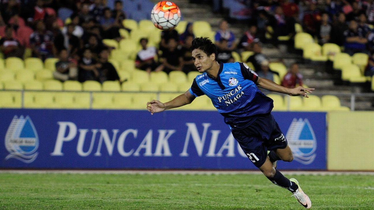 PDRM FA midfielder Safuwan Baharudin