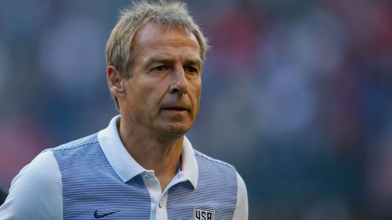 Jurgen Klinsmann's side cruised to victory at St. Vincent and the Grenadines.
