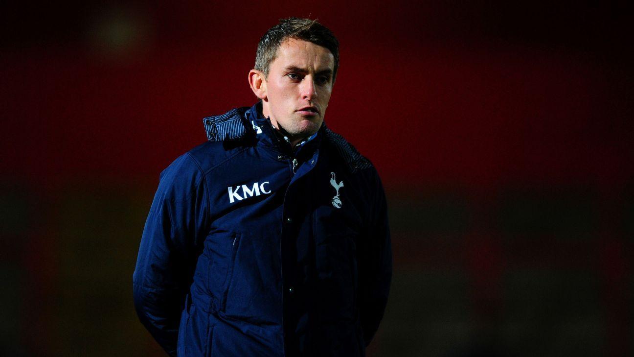 Kieran McKenna of Tottenham