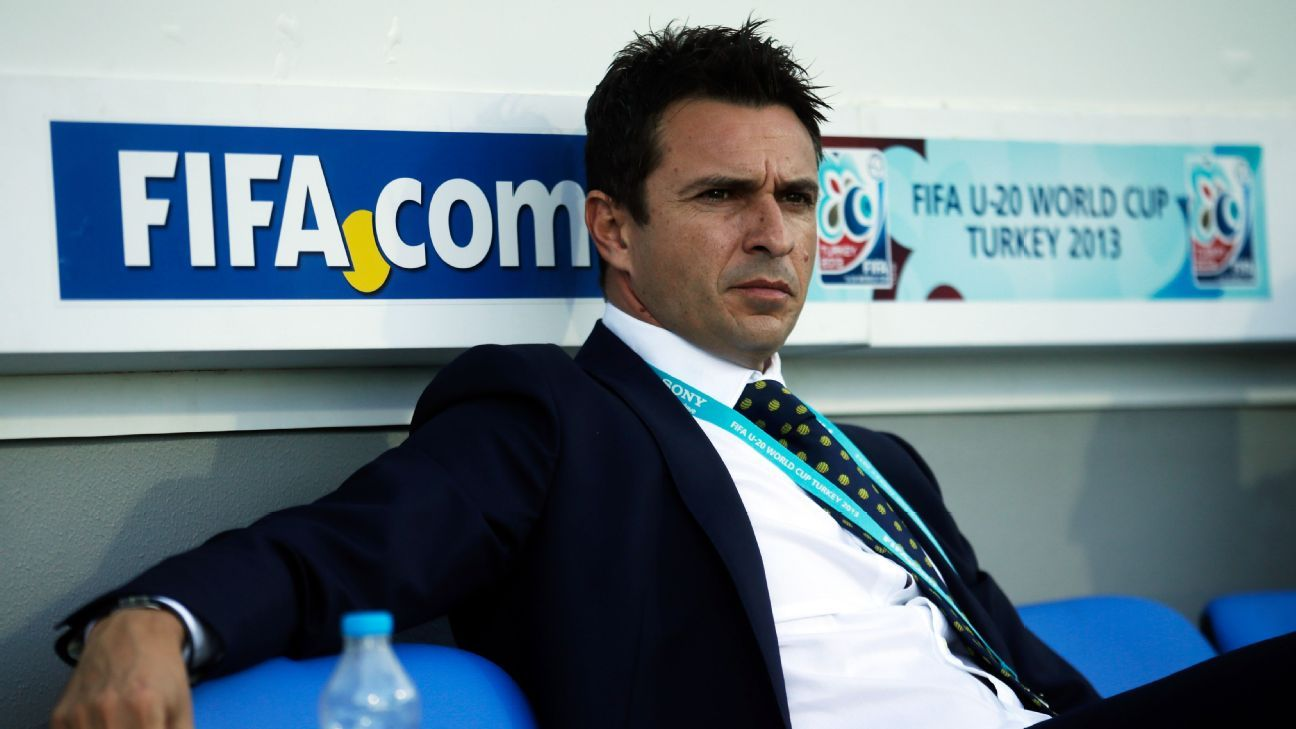 Central Coast Mariners coach Paul Okon