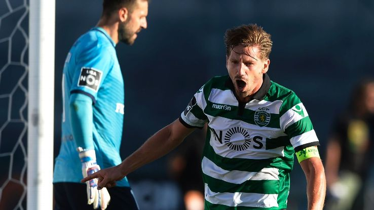 Adrien Silva has made over 150 appearances for Sporting Lisbon.
