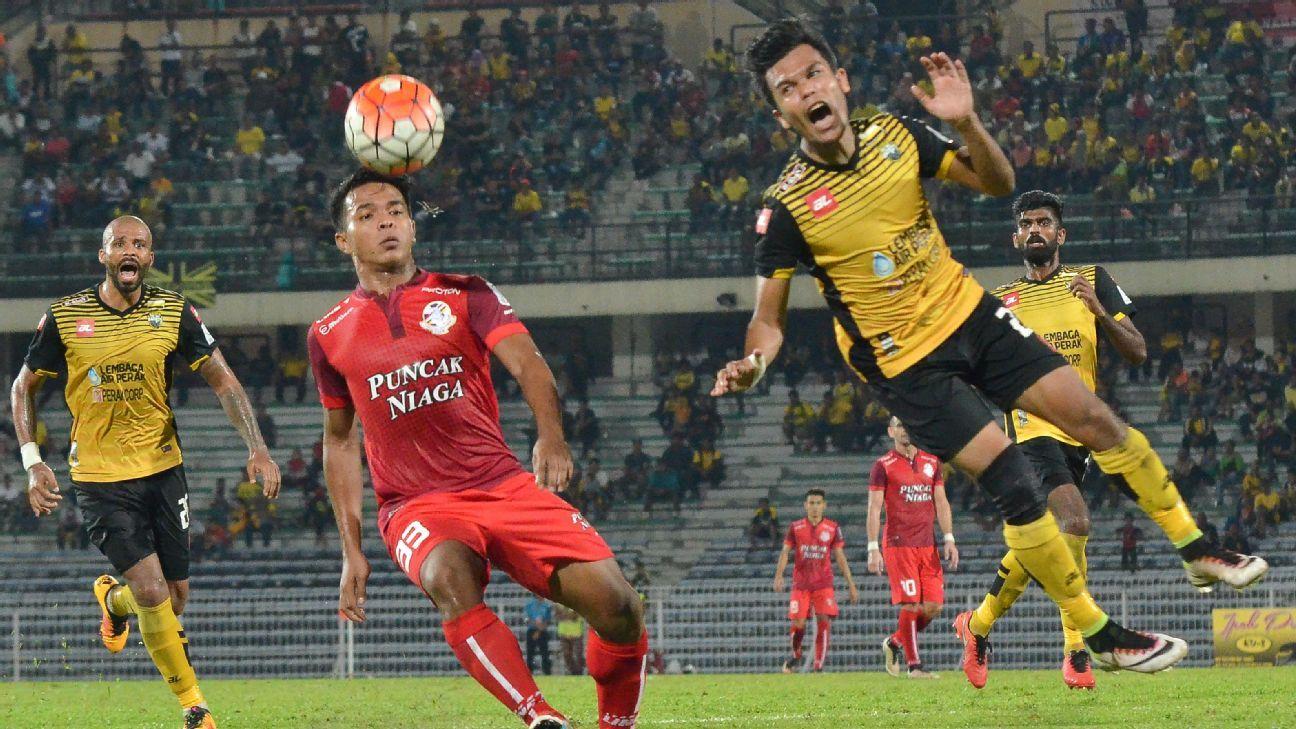 Perak and Malaysia left-back Nazirul Naim