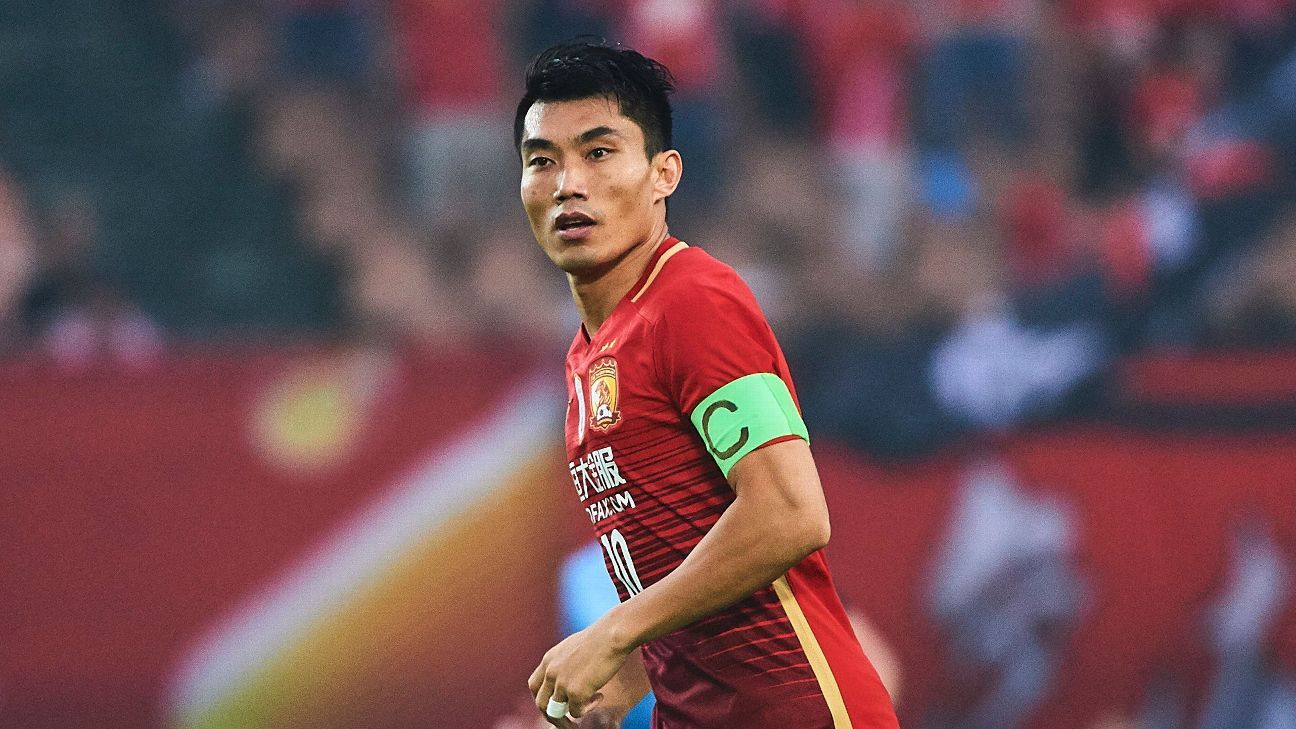 Zheng Zhi came in for praise following Guangzhou Evergrande's win on Friday.