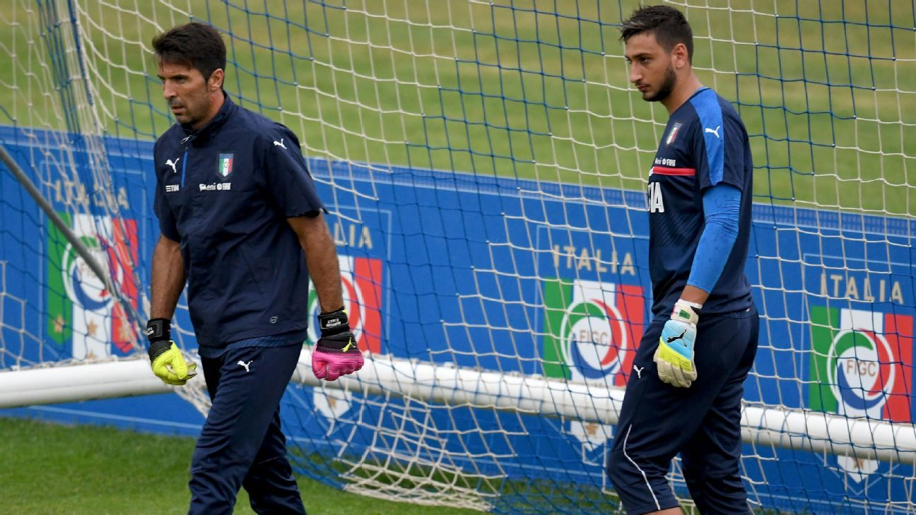 Gianluigi Buffon & Gianluigi Donnarumma