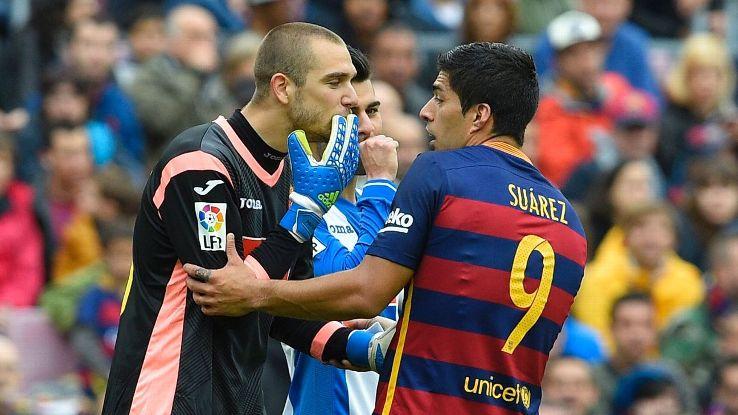 Pau Lopez & Luis Suarez