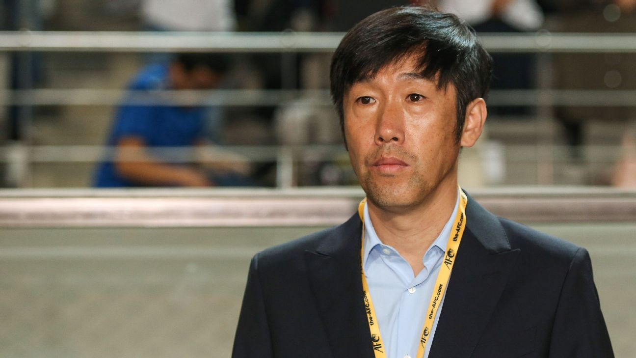 China coach Gao Hong Bo