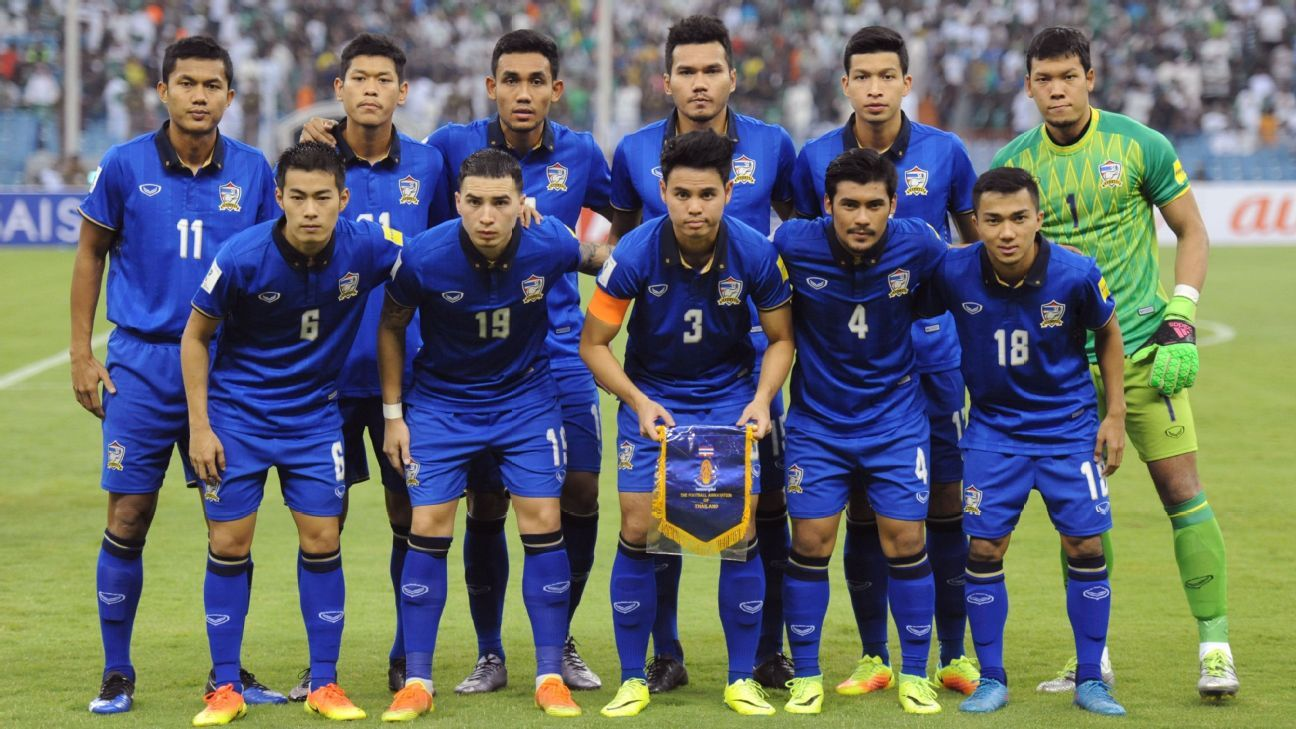 Thailand team vs. Saudi Arabia WCQ