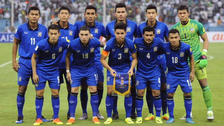 Thailand team vs. Saudi Arabia WCQ
