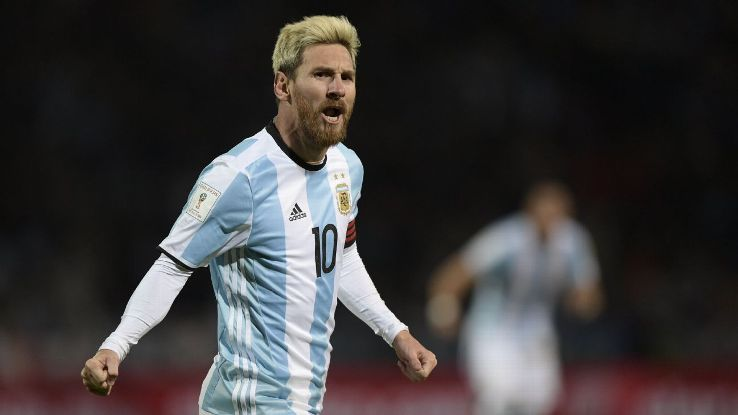 Lionel Messi scored the game's only goal against Uruguay.