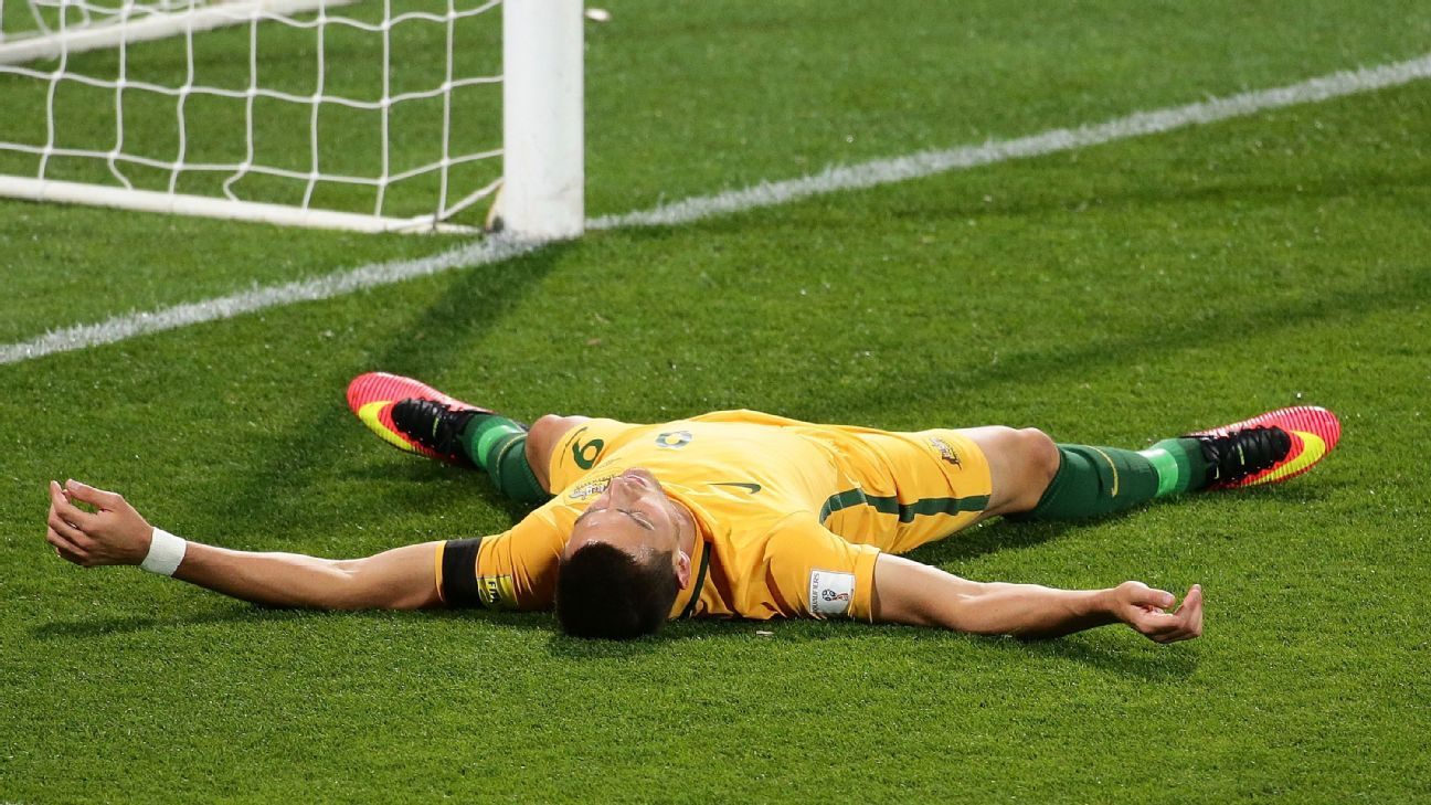 Australia striker Tomi Juric